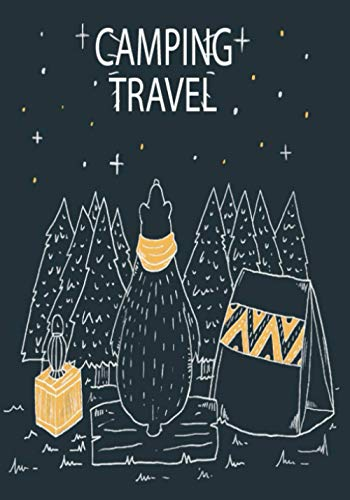 Camping Travel: Caravan Travel Journal Planner, Traveling Log Book Perfect for Record Your Outdoor Adventures.
