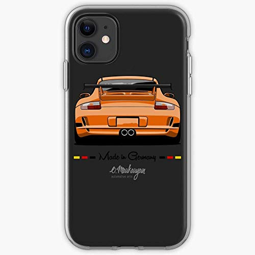 TIINTEXBA Compatible with iPhone 12/12 PRO Max 12 Mini 11 PRO Max SE X XS Max XR 8 7 6 6s Plus Case Carrera Speedster Gt2 Porsche Emblem Gt3 911 Targa Phone Cases Cover