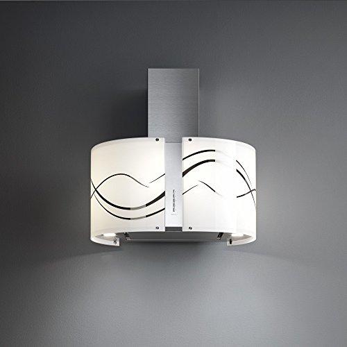 Falmec–campana de Isla Fenice acabado Acero inoxidable De 85cm