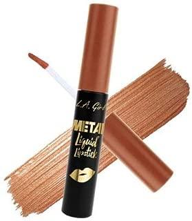 L.A Girl Metal Liquid Lipstick, Copper, 7ml