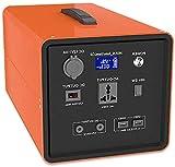 Generador Portátil Generador Inverter 642WH 176000mAH Fuente de alimentación de emergencia de emergencia con inversor DC / CA, salida inalámbrica, cobrado por panel solar / pared / salida de automóvil