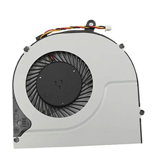 Huilongxin Reemplazo para Toshiba P50 S50 S55 L50D-A CPU del Ordenador portátil de refrigeración de 17 Pulgadas Ventilador Duradero Parte