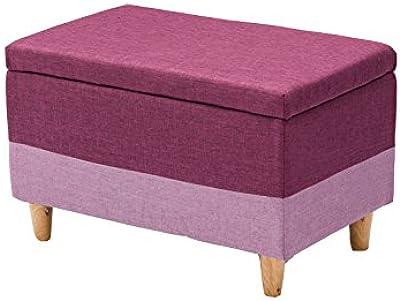 Brisk -- El taburete del almacenaje del taburete del almacenaje del paño puede sentarse en