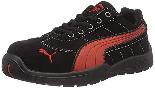 Puma 22273 Safety Shoes Silverstone Low S1P HRO SRC, 642630-210-42 Herren Sicherheitsschuhe, Schwarz, EU 42