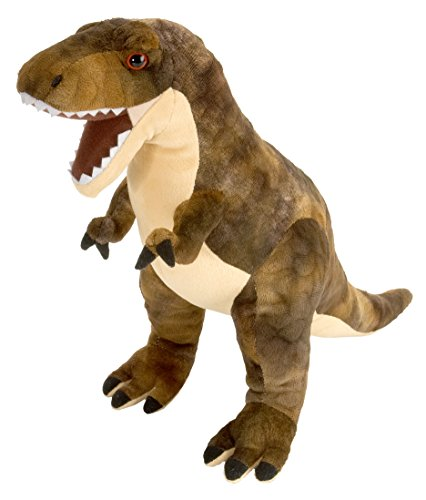 Wild Republic T-Rex Plush, Dinosaur Stuffed Animal, Plush Toy, Gifts for Kids, Dinosauria 15'