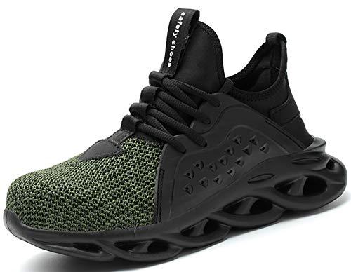 SUADEX 靴 安全 靴 作業 おしゃれ あんぜん靴 みどり 工事現場 靴 スニ一カ一 軽量 作業靴 通気性 鋼先芯 耐摩耗 防刺 耐滑ソール アウトドア スニーカー ワーク シューズ セーフティーシューズ