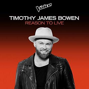 Reason To Live (The Voice Australia 2020 Performance / Live)
