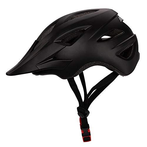 Fahrradhelm Frauen Männer Leichtes atmungsaktives In-Mould-FahrradOutdoor-Sport Mountainbike-Ausrüstung-99 Black