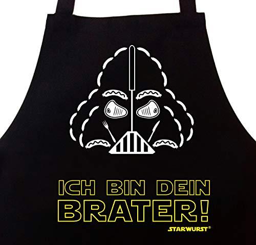 STAR WURST Ich Bin Dein Brater - Grillschürze Kochschürze Geschenk für Männer