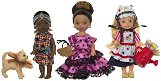 Barbie Kelly Friends of the World 3-Doll Gift Set