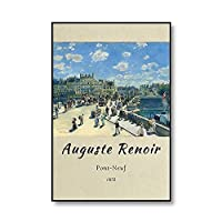 世界的に有名なオーギュスト・ルノワールの「ビッグ水浴」アートプリントやポスター、フレームレスキャンバス絵画家のための装飾 3号 15x20cm