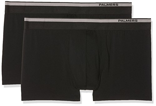 Palmers Herren Casual Men Pants Doppelpack Boxershorts, Schwarz (Schwarz 900), X-Large (2er Pack)