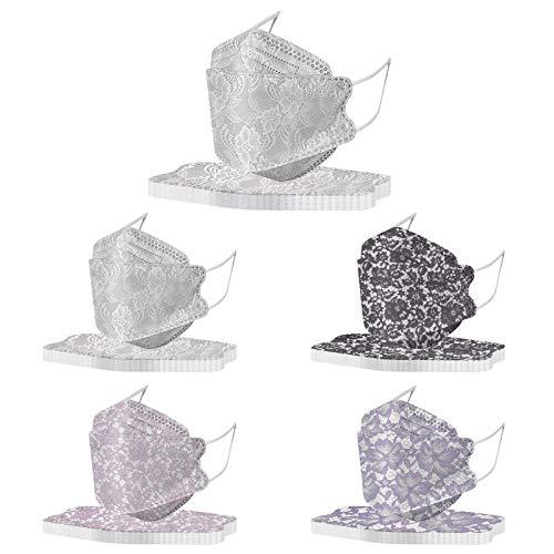 FFQY 50 Stück Blumen Bedruckte Mundschutz Einweg Erwachsene Mund Nasenschutz mit Motiv Sonnenblume Staubschutz Mundbedeckung Halstuch Atmungsaktive Multifunktionstuch Maske Bandana Schals