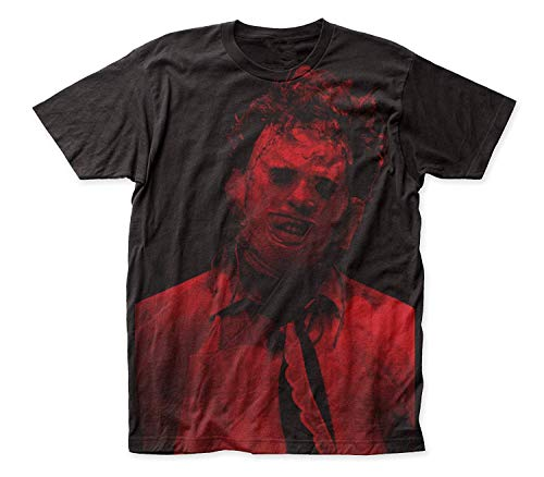 Mabby Impact Texas Kettensäge Massaker Leatherface Großdruck Subway Graphic T-Shirt