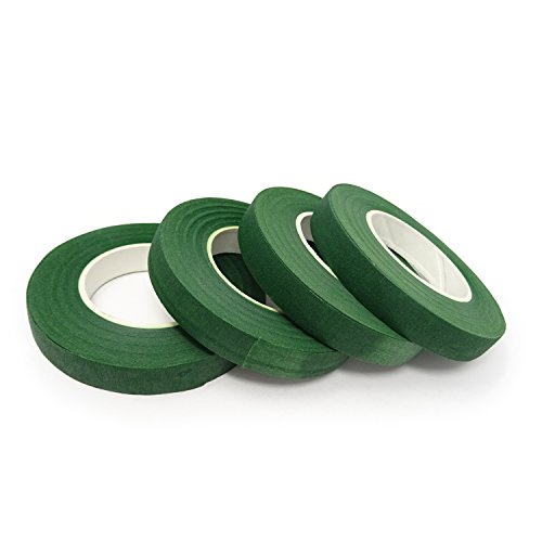 "Honbay 4 Rolls 1/2"" Wide 30Yard/Roll Floral Tapes for Bouquet"