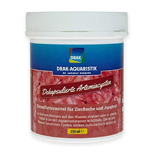 DRAK-Aquaristik Dekapsulierte Artemiacysten in der Dose Größe 250 ml