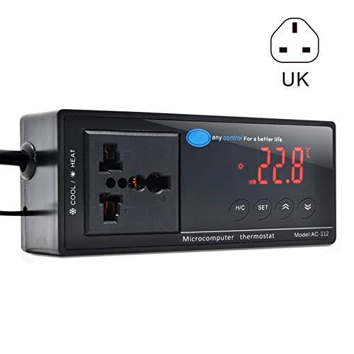 ROKOO Digitale LED Temperatuur Controller Thermostaat voor Aquarium Reptiel AC-112