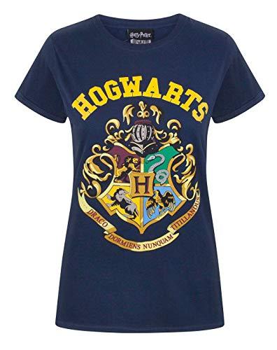 T-shirt Harry Potter pour femme - Bleu - XXL