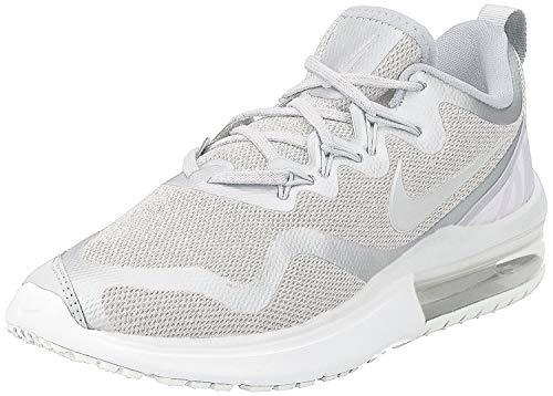 Nike Women's Air Max Fury White/Vast Grey - Pure Platinum Low Top Cross Trainer Shoe 9M