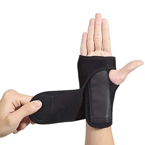 EULANT Handgelenk Schienen Bandage, Handgelenkbandage Atmungsaktiv Handgelenkschiene für Schmerzlinderung Karpaltunnelsyndrom Verstauchunge Sehnenscheidenentzündung Handgelenk Arthritis,Rechts Hand