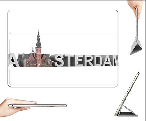 Case for iPad Air 3 (3rd Gen, 10.5-inch 2019) - Oude Kerk Amsterdam Architecture Building Church