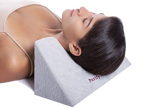 Cervical Traction Fulcrum for Neck, Back, and Shoulder Pain Relief - Chiropractic Therapy Tool for Spinal Adjustment - Tension Stretching Foam Block - Restoration for Better Sleep