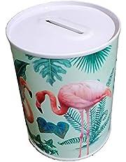 Harmony Coin Box Flamingo Design Size 15 x22 CM, multycolor, HAR 823