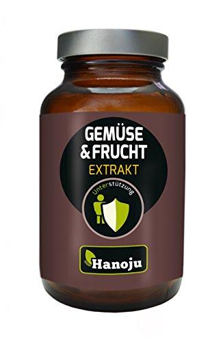 Hanoju Gemüse plus Fruchtextrakt 400 mg 90 Kapseln