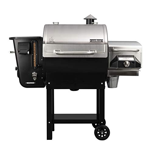 24 in. WIFI Woodwind Pellet Grill & Smoker with Sear Box (PGSEAR) - WIFI & Bluetooth Connectivity