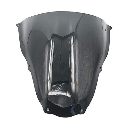 ACD Parabrisas de motocicleta para parabrisas Aprilia RS50 RS125 RS250 RS 50 125 250 2006 2007 2008 2009 2010 2011 (color: negro)