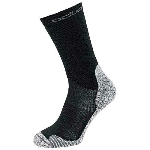 Odlo Natural Ceramiwarm Socken Chaussettes Homme, Noir, 45-47