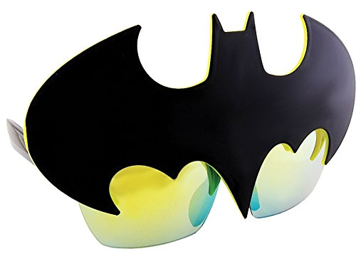 Sunstaches Officially Licensed Batman Logo