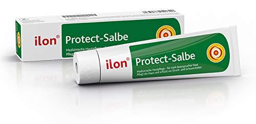 ilon Protect Salbe 50ml - effektiver Schutz und Pflege strapazierter Haut. Schützt vor Wundreiben, Wundscheuern und beugt Hautentzündungen vor. Bei sportlicher Belastung oder in der häuslichen Pflege
