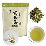 Genmaicha green tea with roasted brown rice ,japanese tea Low caffeine bags (3g×60bags) 【CHAGANJU】