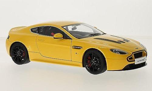 Aston Martin V12 Vantage S, metallic-gelb, RHD, 0, Modellauto, Fertigmodell, AUTOart 1 18