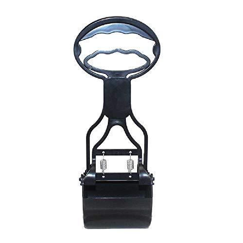 Jieyouzahuopu Hundekot Schaufel Artefakt Welpe Pickup Poop Hocker Poop Aufräumen Scheiße Werkzeug Haushalt Heimtierbedarf Trompete schwarz