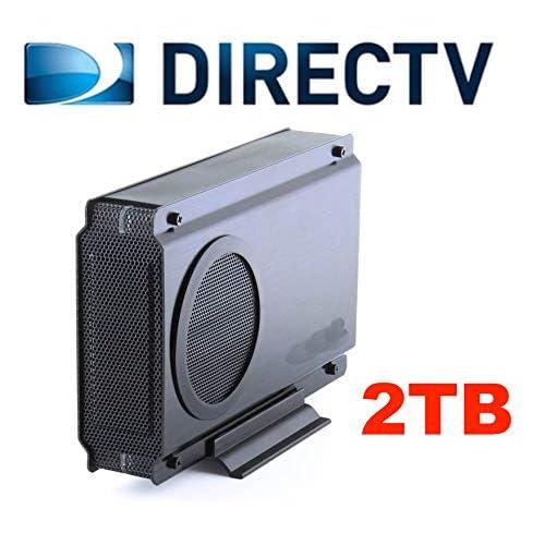 2TB DVRdaddy External DVR Hard Drive Expander for DirecTV HR20, HR21, HR22, HR23, HR24, HR34, HR44, HR54 Genie DVR. +2000 Hours Recording Capacity!