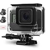 Adofys Underwater Housing Case Compatible with GoPro Hero(2018)/GoPro Hero7 Black/6/5 Waterproof Case Diving