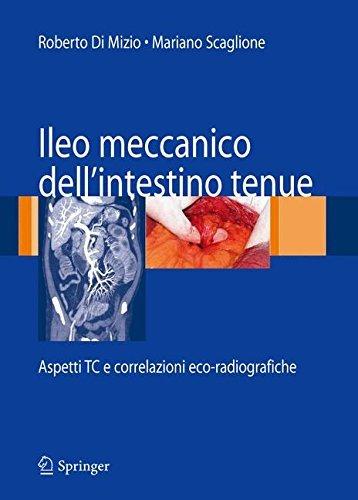 Ileo meccanico dell'intestino tenue: Aspetti TC e correlazioni eco-radiografiche (Italian Edition)