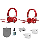 Beats by Dr. Dre Beats EP On-Ear Headphones (Red) (2 Pack) ML9C2LL/A Kit with Headphone Cleaner + More
