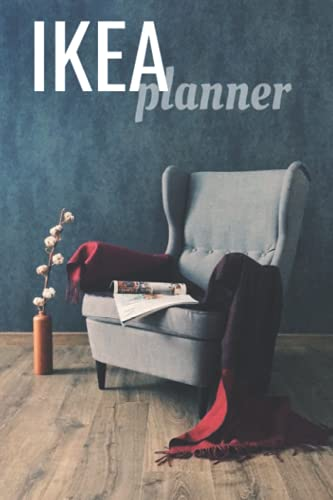 IKEA Planner Book: Renovation and DIY Planner to help you in IKEA. Write your IKEA ideas here