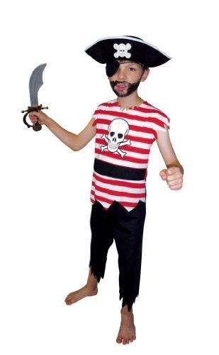 César - F085-003 - Costume - Déguisement Pirate - 8/10 Ans