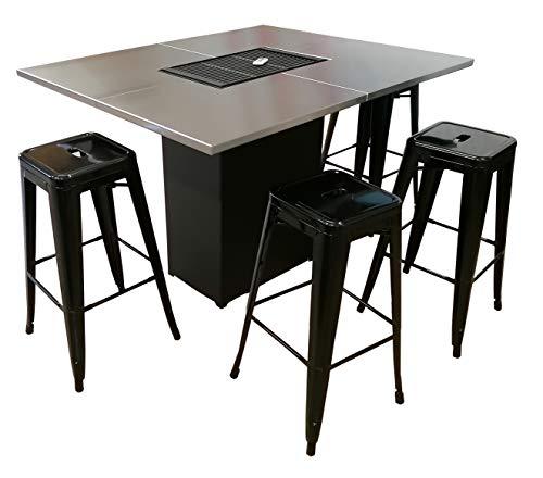 Efam Design Table Barbecue Easy Grill 01 motorisé - Poids 135 kg - Code EAN 7061254637094 - REF : TBEASGR01
