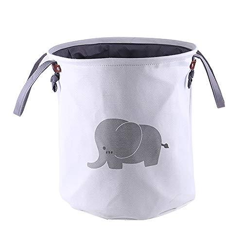 Cesto para ropa sucia infantil diseño de elefante