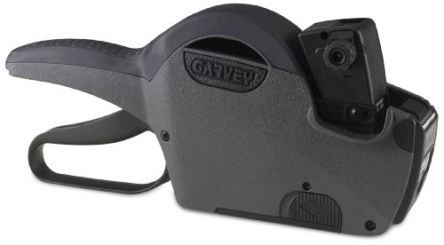 Garvey 22-6 Digit Single Line, Price Marking Gun Date Code Labeler, Compatible to 22 x 12 mm Labels (22-6/G2212-06001), Charcoal