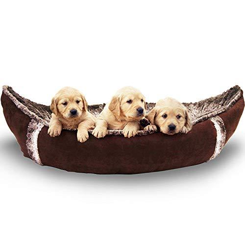 LIZONGFQ Medium orthopädisches Hundebett mit waschbarer Abdeckung Piraten-Schiffs-Hundebett für kleine bis mittleren Hunde und Spielzeug als Geschenk