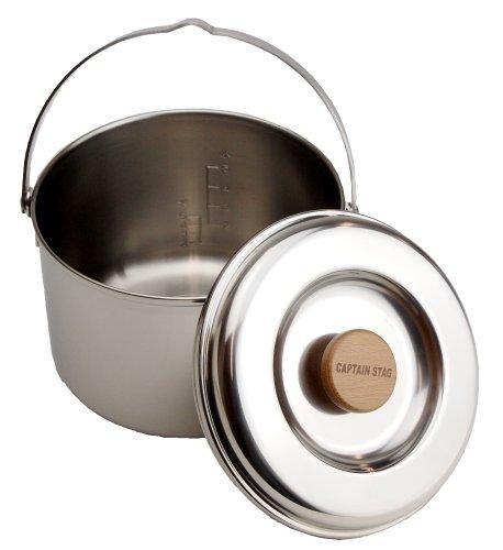 CAPTAINSTAG(キャプテンスタッグ)『3層鋼ごはん炊きクッカー(M-8610)』