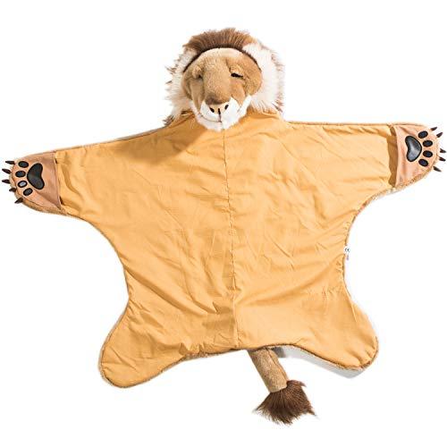 Wild & Soft Disfraz de len, Capa de len, Disfraz de nios para Carnaval, Fiestas de cumpleaos y Halloween, 90 x 115 cm