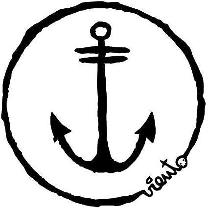 VIENTO Anchor Logo Gorro de Punto Largo