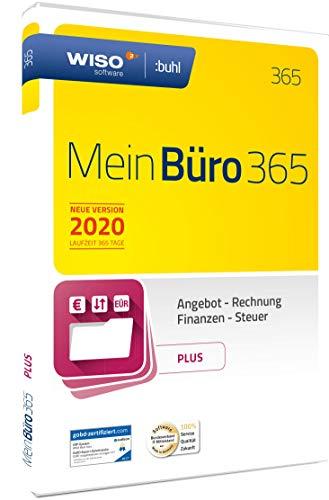 WISO MeinBüro 365 (2020) Plus | Frustfreie Verpackung | Bürosoftware, Rechnung schreiben, Umsatzsteuervoranmeldung, Buchhaltung u.v.m.
